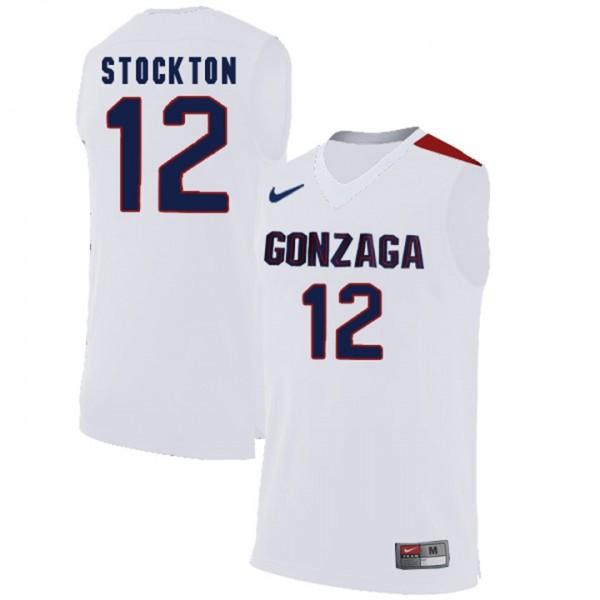 Gonzaga Bulldogs David Stockton #12 Men's Limited College ...